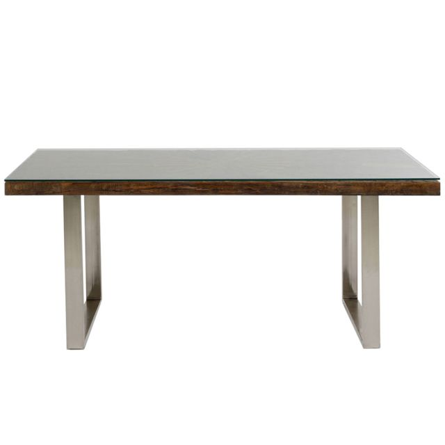 Karedesign Table Conley pieds chromés 180x90cm Kare Design