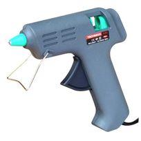 Techman - Pistolet à colle basse température + 4 bâtons multicolores Ø 8 mm
