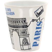 cosy trendy tasse mug porcelaine anse 30cl blanc mugs pas cher achat vente mug. Black Bedroom Furniture Sets. Home Design Ideas