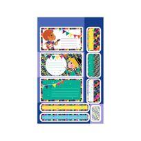 Maildor - Carnet 94 Étiquettes Autocollantes Ecole et Quotidien - Garçon