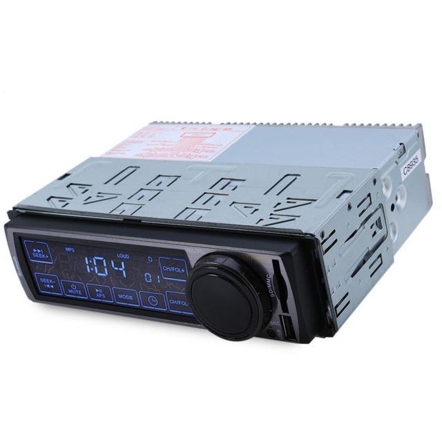Auto-hightech Autoradio Audio Stéréo Fm de Voiture à Écran Tactile avec Bluetooth V2.0, Soutien Usb, carte Sd, Mains-libres