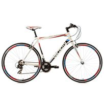 KS CYCLING - Vélo route 28'' Velocity blanc TC 59 cm