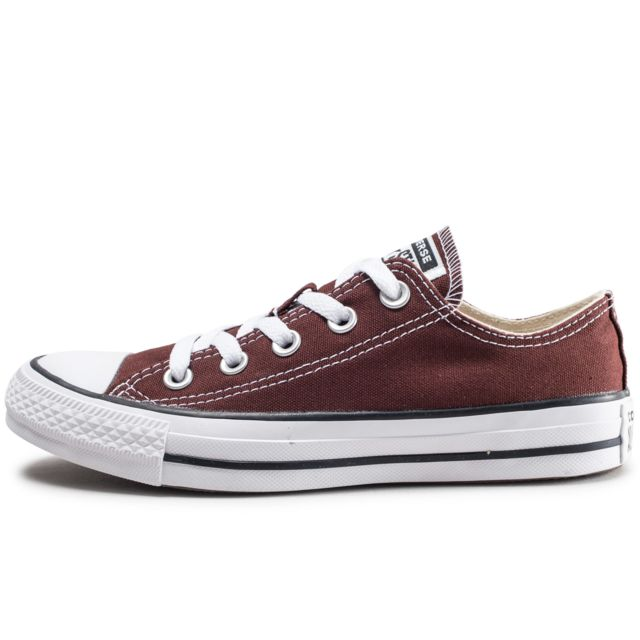 Converse - Chuck Taylor All Star Low Marron Femme - pas cher ...
