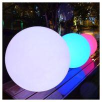 Kosilum - Boule de lumière 35cm Led sans fil waterproof rechargeable - En Soldes