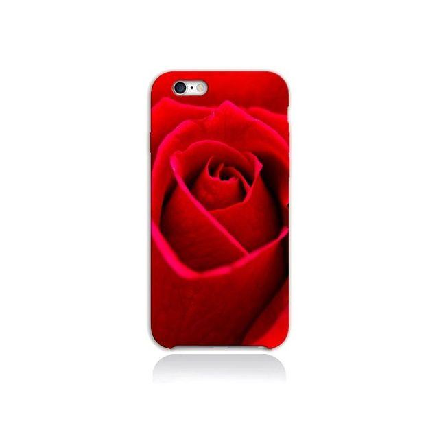 coque iphone 6 avec rose rouge