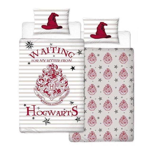 Harry Potter Letters Parure De Lit Enfant Housse De