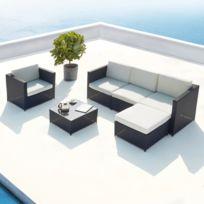 Best Salon De Jardin Modulable Blanc Contemporary - Awesome Interior ...