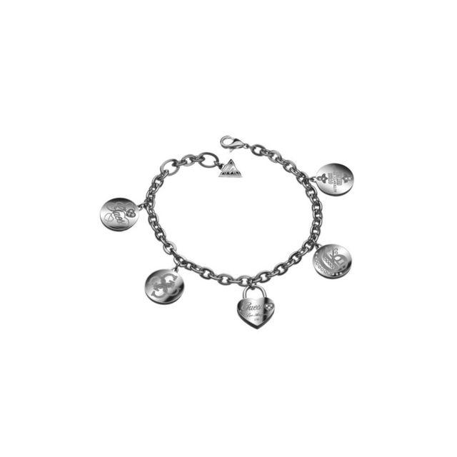 caba937447 Guess - Bracelet Femme Acier Argenté - pas cher Achat / Vente ...