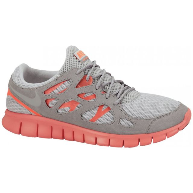 low priced 43955 f37e6 Nike - Basket Free Run+ 2 Gris 555174-002-43.5 - pas cher Achat   Vente Baskets  homme - RueDuCommerce