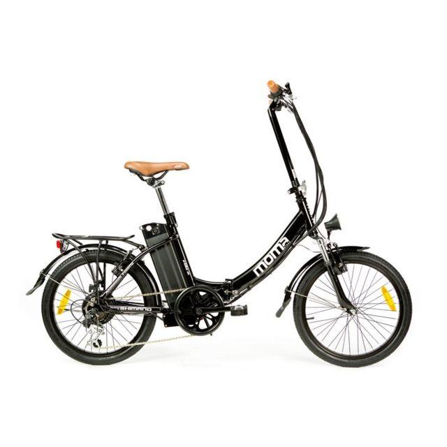 Moma Bikes - Ebike 20 Noir