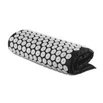 CAPITAL SPORTS - Eraser Tapis de yantra Tapis masseur Acupression 80x50cm -noir