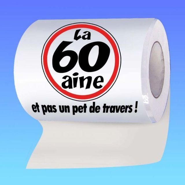 Papier Toilette Anniversaire Humoristique Papier Toilette Anniversaire 60 Ans Papier Toilette Anniversaire 60 Ans