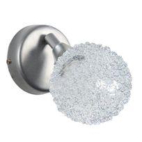 Tosel - Actuelle Applique rotule.boule aluminium