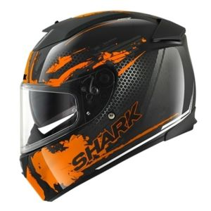 shark casque speed r 2 mxv duke noir orange anthracite l pas cher achat vente casques. Black Bedroom Furniture Sets. Home Design Ideas