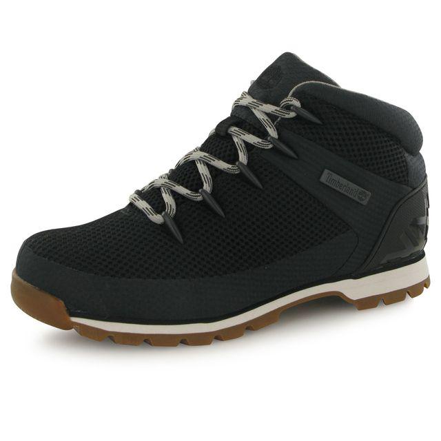 Timberland - Boots Euro Sprint Fabric Noir Homme 40