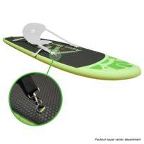 Stand Up Paddle gonflable BREEZE avec pompe haute pression, pagaie et sac de rangement