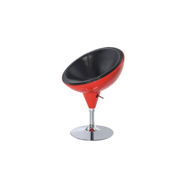 Moncontainercom Tabouret De Bar Design Rouge Et Noir Nc Pas