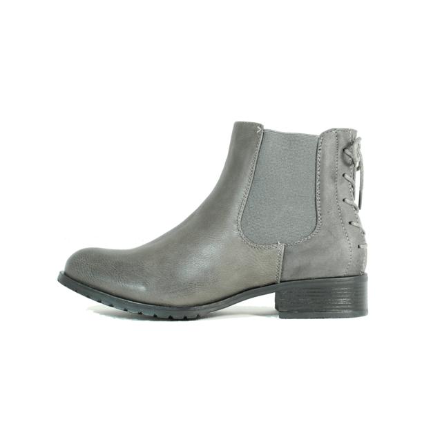 Buzzao Chelsea Boots gris Grey pas cher Achat Vente
