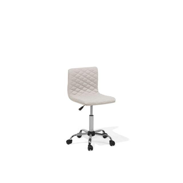 BELIANI Chaise de bureau beige ORLANDO - beige