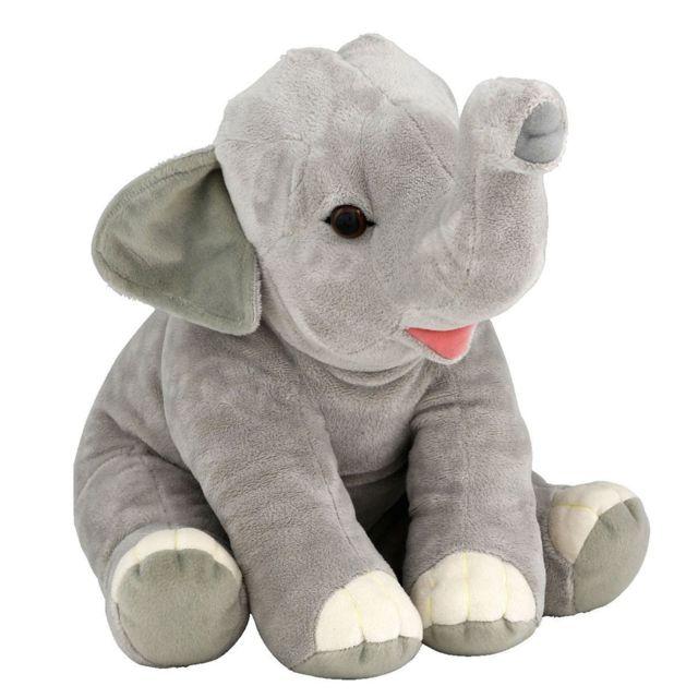 Soft Friends - Peluche Eléphant 40 cm