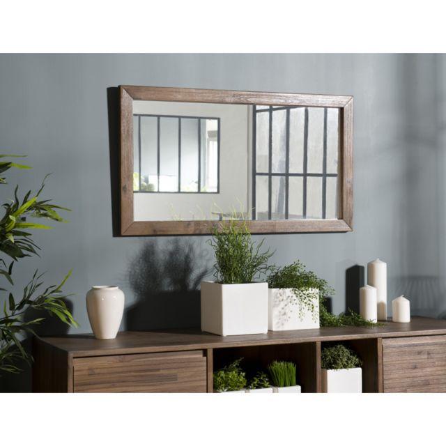 MACABANE Miroir 100x55cm