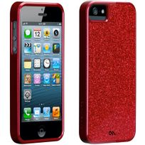 Case Mate - Coque Case-mate Glam Rouge iPhone 5s