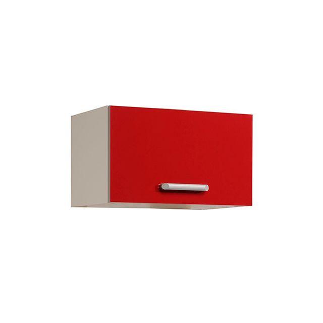 Meuble haut L60xH35xP36cm - rouge brillant