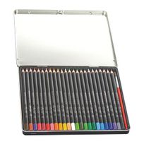 Conte - Crayon de couleur aquarellable couleurs assorties - Boîte de 24