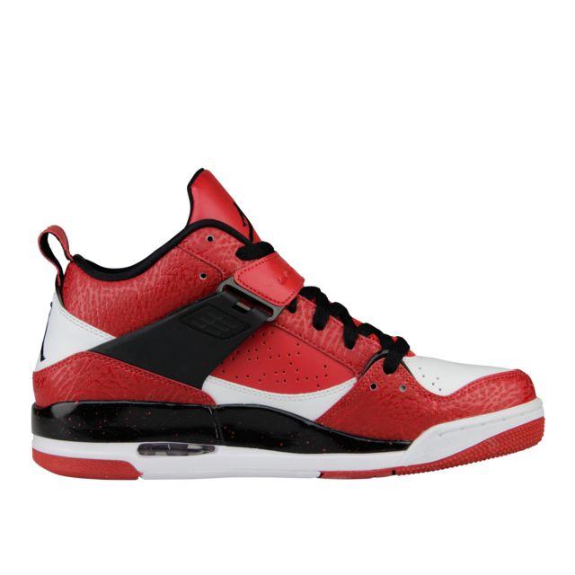 e0545af04a4 Nike - Basket Jordan Flight 45 Rouge 644846-601-44.5 - pas cher Achat   Vente  Baskets homme - RueDuCommerce