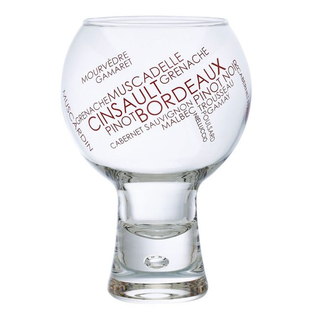 Durobor Verre à vin en verre Cépage rouge 41 cl - Set de 6 Alternato DÉCOR