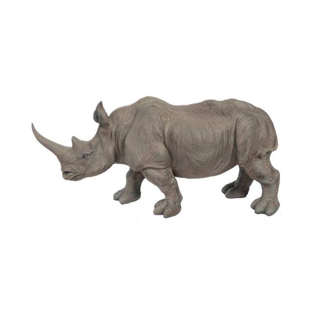 Statue en résine rhinocéros 53 cm