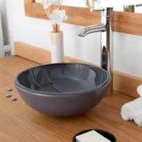 Plan vasque en verre salle de bain - Bientôt les Soldes Plan vasque ...