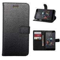 Lapinette - Etui Housse Portefeuille Pour Apple Iphone 8 - Noir