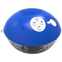 Inolights - enceinte sans fil lumineuse de piscine bleu - inopbx02b