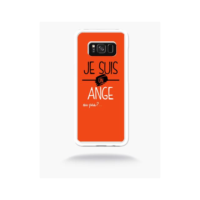 coque orange samsung s8