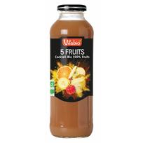 Vitabio - Jus Cocktail 5 Fruits - Bio 100% Fruits