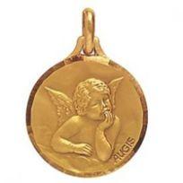 Augis - Médaille Ange En Or