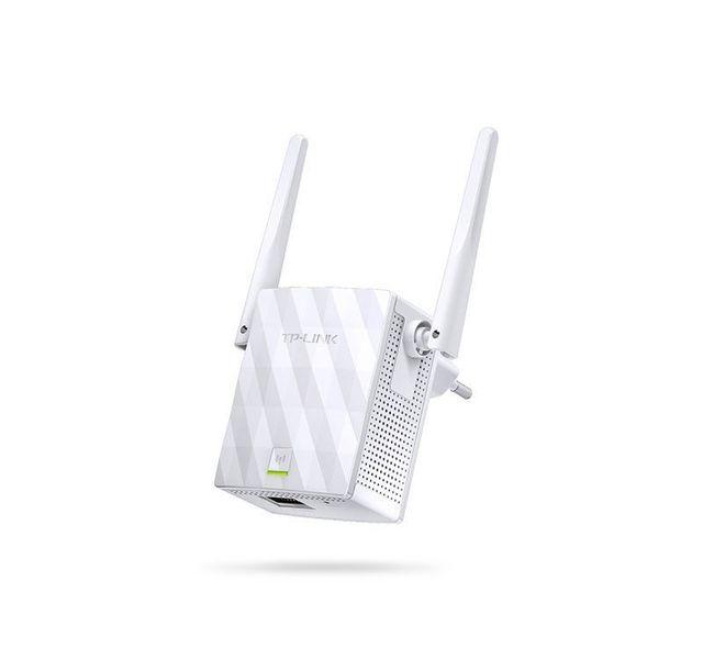 """TP-LINK TL-WA855RE Le TL-WA855RE est conçu pour étendre la couverture réseau de façon pratique et améliorer la force d'un réseau Wi-Fi existant afin d'éliminer les """"zones d'ombre""""."""