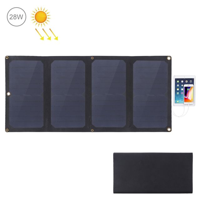 chargeur solaire avec port usb