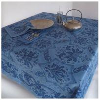 BeauvillÉ - Nappe 170 x 320 cm Bleu-Topkapi par Beauvillé