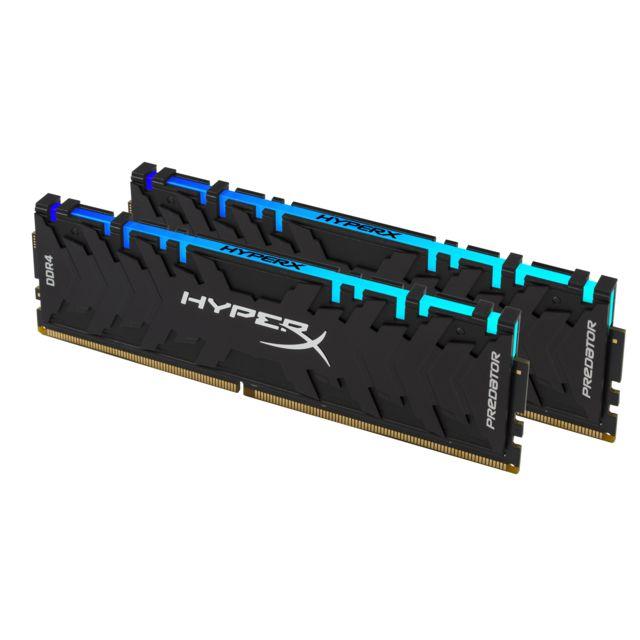 HYPERX Predator RGB 16 Go 2x8 Go, 3200 MHz DDR4 CL16
