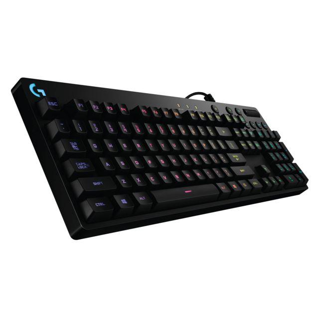LOGITECH G810 ORION SPECTRUM Le clavier Orion Spectrum offre une expérience de jeu absolue. Tout d'abord, grâce à un design axé sur la performance intégrant les plus puissantes de nos technologies.