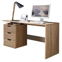 bureau longueur 75 cm achat bureau longueur 75 cm rue du commerce. Black Bedroom Furniture Sets. Home Design Ideas