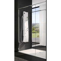 grohe colonne de douche thermostatique rainshower system smartcontrol 360 duo pas cher achat. Black Bedroom Furniture Sets. Home Design Ideas