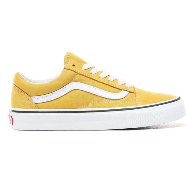 Vans Old Skool Yolk Yellow A38G1VRQ pas cher Achat