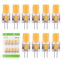 Super 3w Dc Luminaire Ampoule 2800k 12v À Chaud G4 Ac Cob Angle De Mini Led Light Installer 10x Spot 300 Lampe Lumière Facile Lumen260 Blanc 80yNvwPmnO