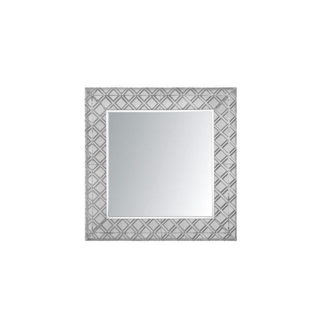 BELIANI Miroir argenté EVETTES - argent