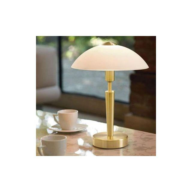 Eglo - Lampe A Poser Solo 1 laiton mat 1x60w - Lighting - 87254 Multicolor