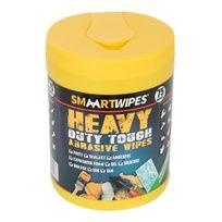 Smaart - Lingettes abrasives ultrarésistantes travaux intensifs - 75 lingettes