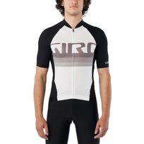 Giro - Chrono Pro - Maillot manches courtes - blanc/noir